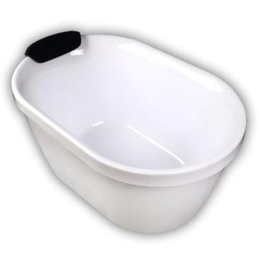 100cm小喬伯斯雙面壓克力獨立式浴缸超低價引進,在家spa專用,最具現代感 BA1004