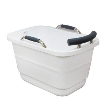 100cm小方雙層壓克力獨立式浴缸超低價引進,在家spa專用 BA1011