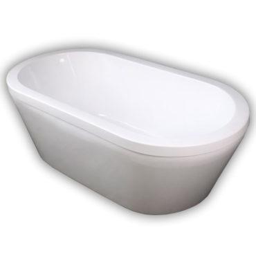 150cm喬伯斯雙面壓克力獨立式浴缸超低價引進,在家spa最具現代感,長147x寬75x高55 BA1104