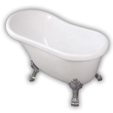 120cm小維多利亞雙面壓克力小貴妃浴缸超低價引進,在家spa專用重現三0年代光輝 BA1108
