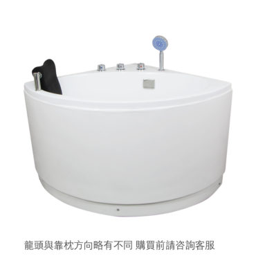 100cm深度沉浸角落型高缸型浴缸 都市生活最後救贖 伸展舒適超棒空間運用 把時間留給自己 BA13A0