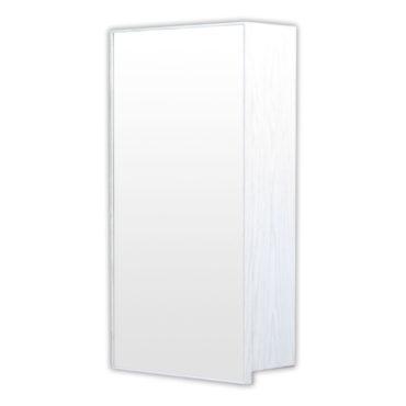 鋁合金水曲柳木紋浴室鏡櫃,防火防水不生鏽,36x70cm牆掛式鏡櫃。含小物收納空間方便。 MQ3670
