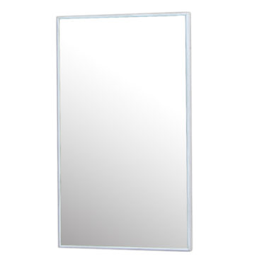 水曲柳木紋質感細框單鏡,鋁框包覆鏡面不易氧化,34x54cm防水耐用易清潔 MS733Q