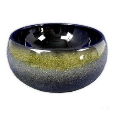 410x410最新設計青黑釉腰鼓型花色盆,搭配檯面、浴櫃使用,最新現代化設計 SL37E0