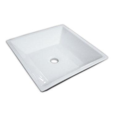 42×42四角方盤淺碟式陶瓷碗藝術盆,盛水面及正面寬度皆超大,多位置多用途多功能可使用 SL7073