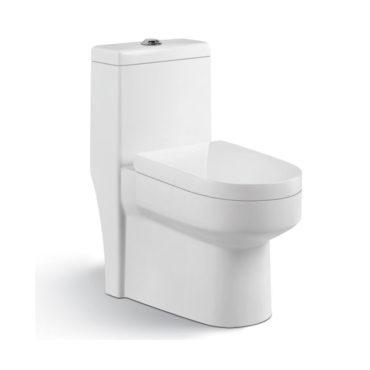 虹吸式單體馬桶書曉二代 包含水箱配件、緩降馬桶蓋(地排30cm) TO6230