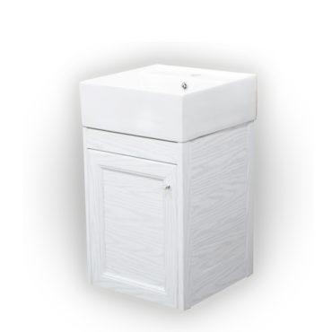 40cm方盆浴櫃組面盆檯面一體成形防水防火零甲醛落地吊掛營業場所家用 VP363L