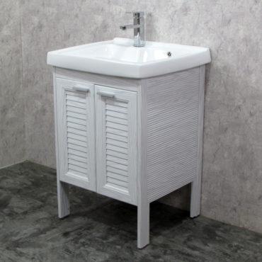 Laundry60洗衣槽盆櫃全鋁合金全新上市落地款盆櫃安裝快速簡易陽台洗衣間最適配婆媳關係催化劑 VP8562