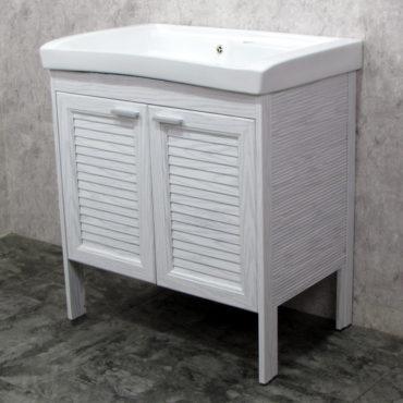 Laundry80洗衣槽盆櫃全鋁合金全新上市落地款盆櫃安裝快速簡易陽台洗衣間最適配婆媳關係催化劑 VP8581