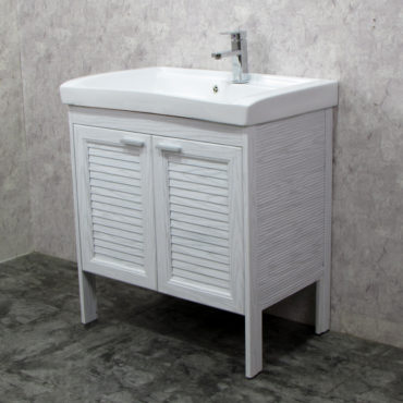Laundry80洗衣槽盆櫃全鋁合金全新上市落地款盆櫃安裝快速簡易陽台洗衣間最適配婆媳關係催化劑 VP8582